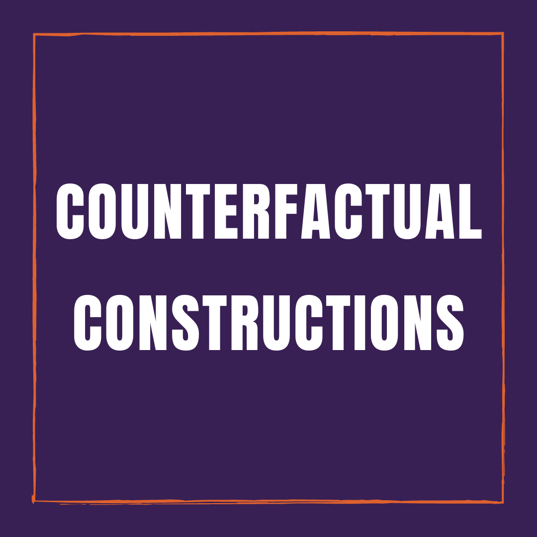 Counterfactual Constructions in Hindi