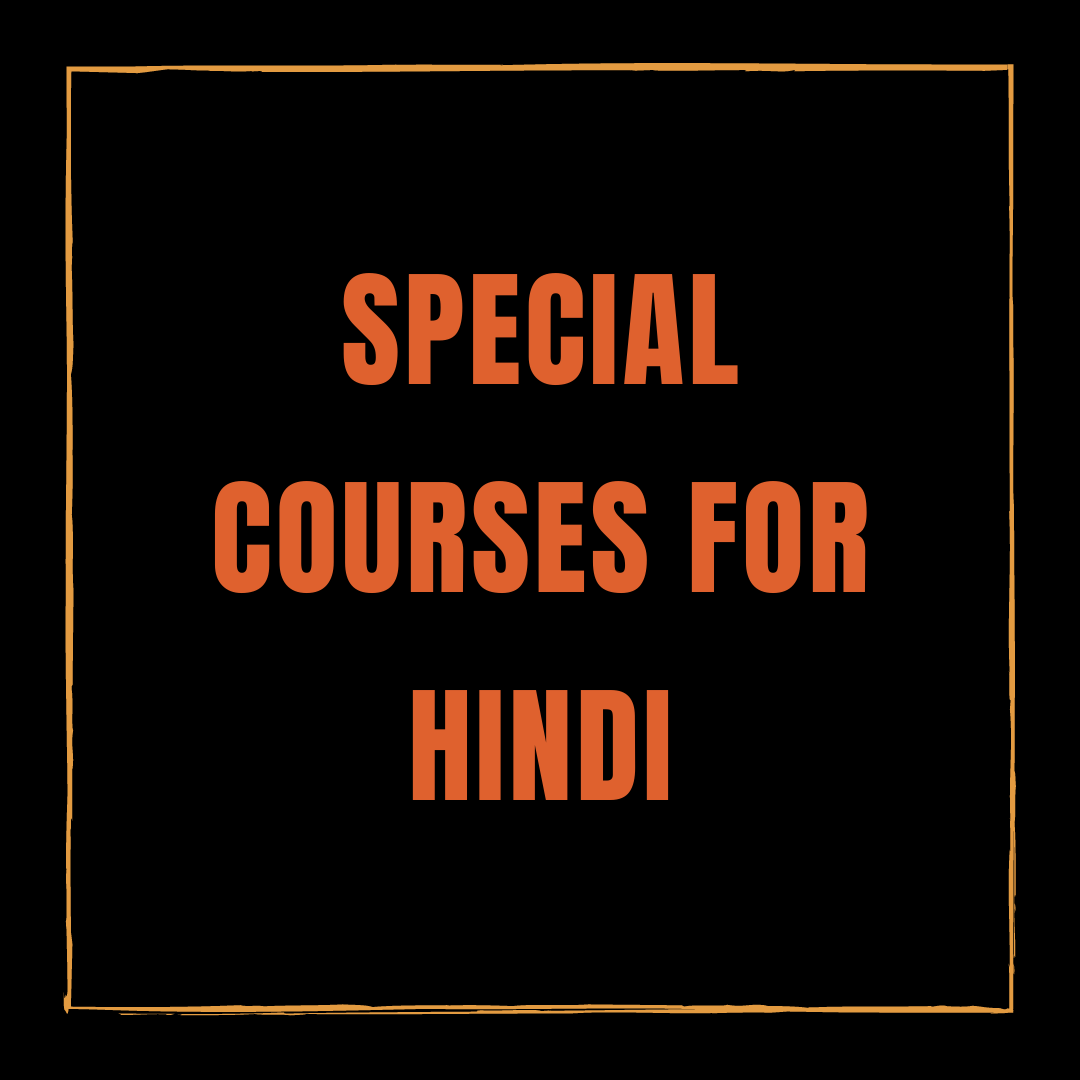 Hindi Courses for intermediate and advanced leaners