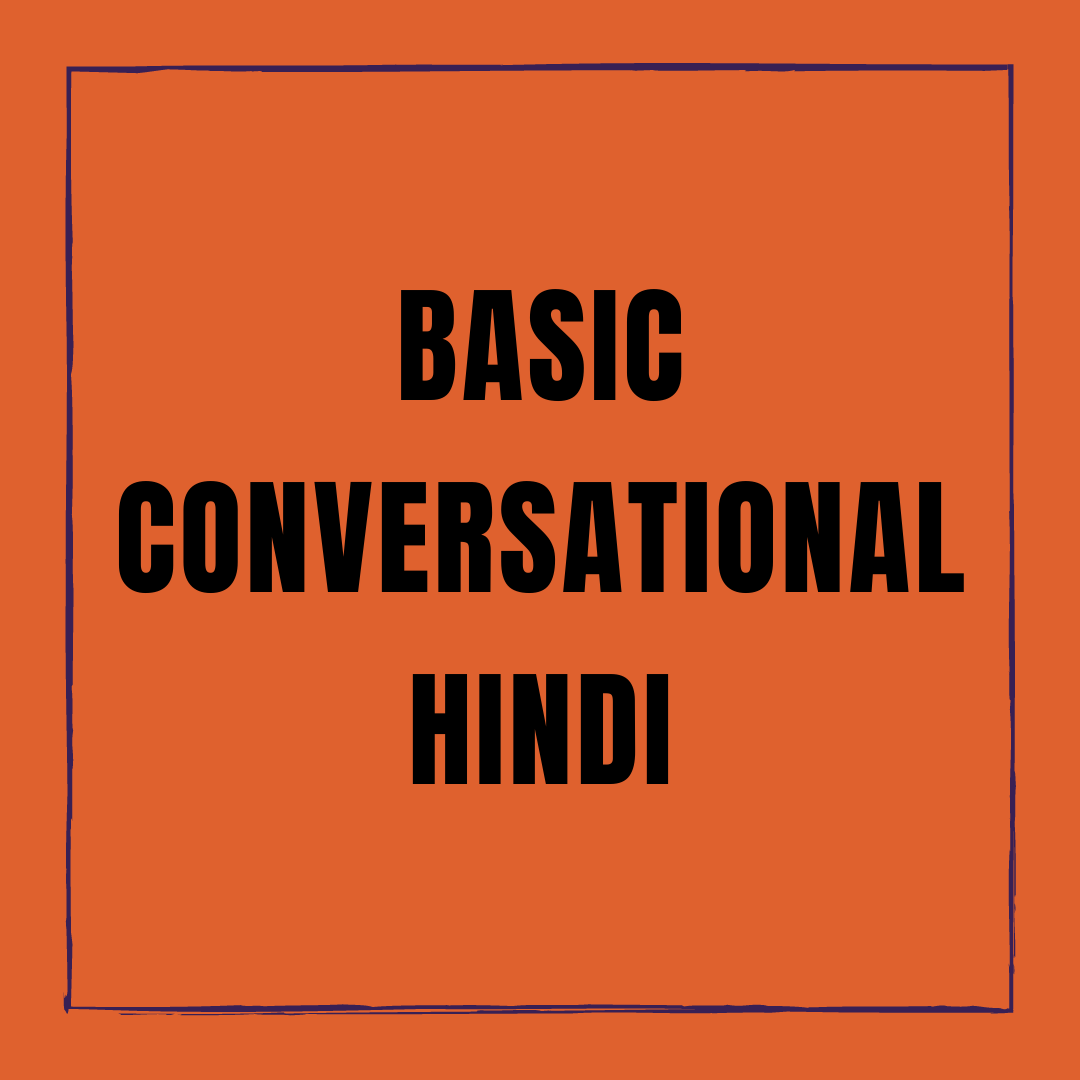 Basic Conversational Hindi