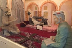 Ghalib with his student Munshi Hargopal Tufta