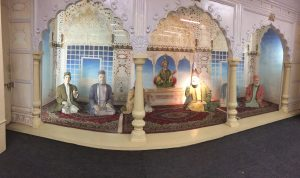 Diorama of the last mushairah
