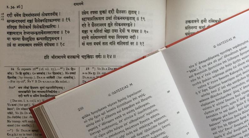 Greek – a book on Sanskrit grammar