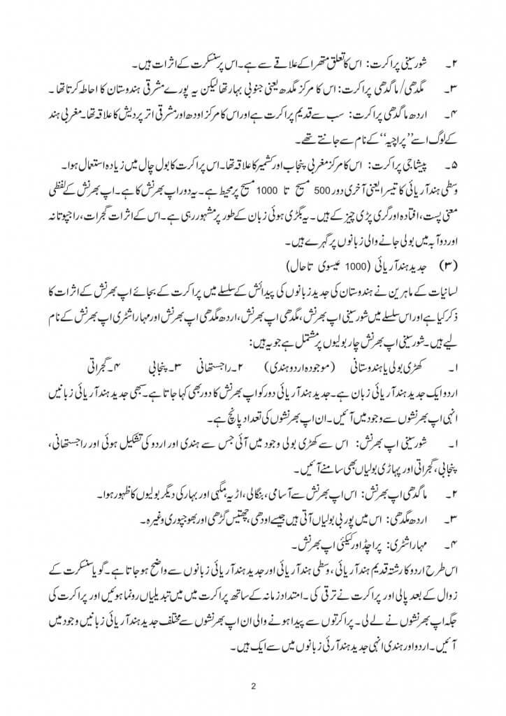 Urdu Language History In Urdu 2