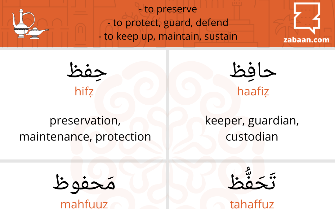 Haafiz–the one who protects